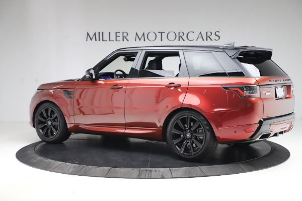 Used 2019 Land Rover Range Rover Sport Autobiography for sale Sold at Maserati of Greenwich in Greenwich CT 06830 4