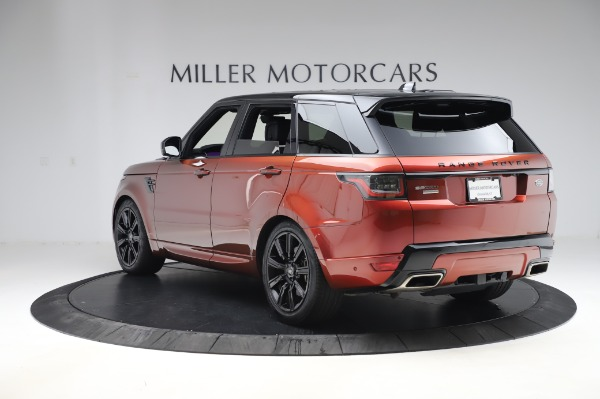 Used 2019 Land Rover Range Rover Sport Autobiography for sale Sold at Maserati of Greenwich in Greenwich CT 06830 5