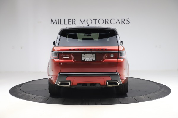 Used 2019 Land Rover Range Rover Sport Autobiography for sale Sold at Maserati of Greenwich in Greenwich CT 06830 6
