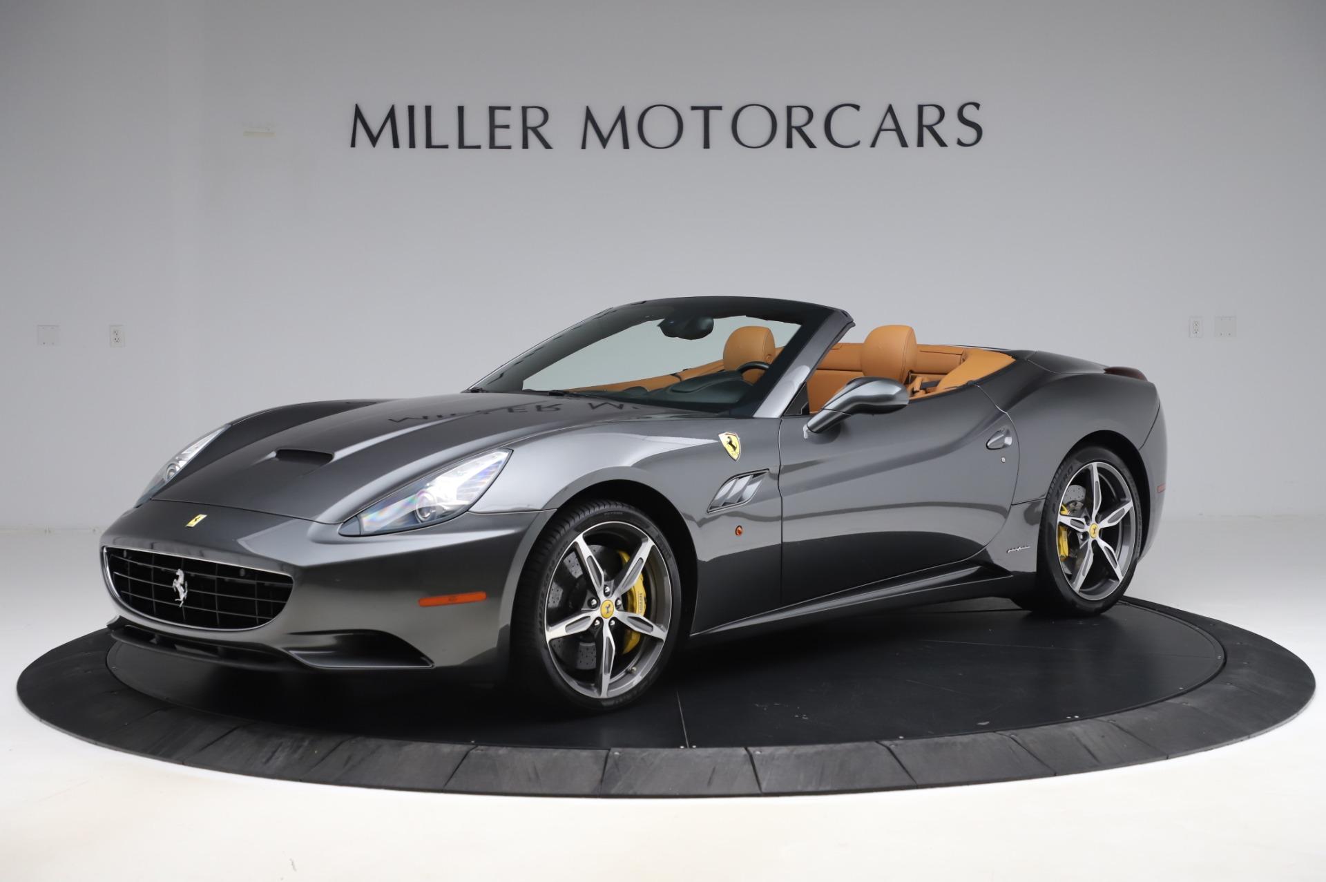 Used 2014 Ferrari California 30 for sale Sold at Maserati of Greenwich in Greenwich CT 06830 1