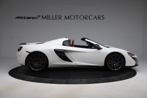 Used 2016 McLaren 650S Spider for sale $159,900 at Maserati of Greenwich in Greenwich CT 06830 11