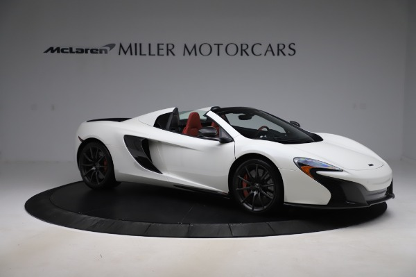 Used 2016 McLaren 650S Spider for sale $159,900 at Maserati of Greenwich in Greenwich CT 06830 13
