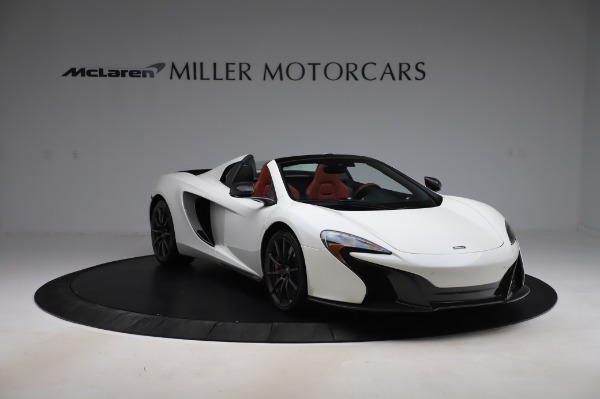 Used 2016 McLaren 650S Spider for sale $159,900 at Maserati of Greenwich in Greenwich CT 06830 14