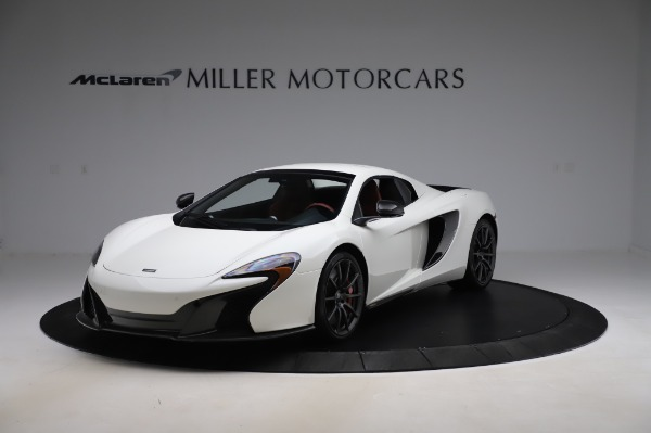 Used 2016 McLaren 650S Spider for sale $159,900 at Maserati of Greenwich in Greenwich CT 06830 16