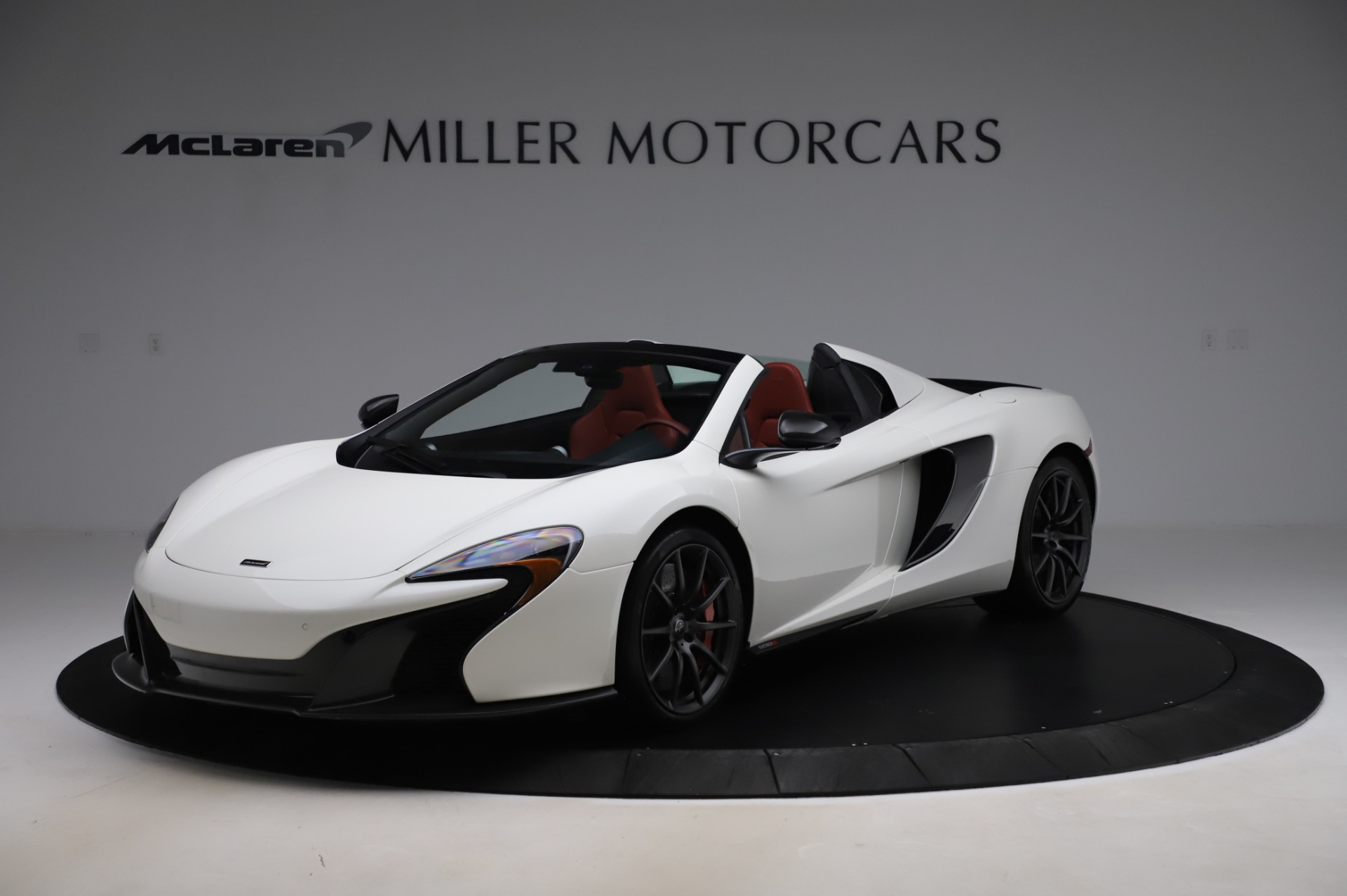 Used 2016 McLaren 650S Spider for sale $159,900 at Maserati of Greenwich in Greenwich CT 06830 1