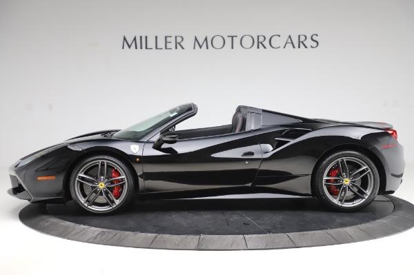 Used 2018 Ferrari 488 Spider for sale $289,900 at Maserati of Greenwich in Greenwich CT 06830 3