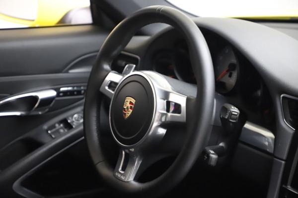 Used 2013 Porsche 911 Carrera 4S for sale $74,900 at Maserati of Greenwich in Greenwich CT 06830 23