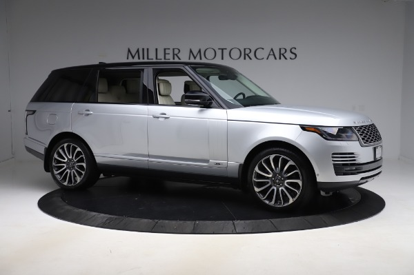 Used 2019 Land Rover Range Rover Supercharged LWB for sale Sold at Maserati of Greenwich in Greenwich CT 06830 10