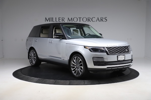 Used 2019 Land Rover Range Rover Supercharged LWB for sale Sold at Maserati of Greenwich in Greenwich CT 06830 11