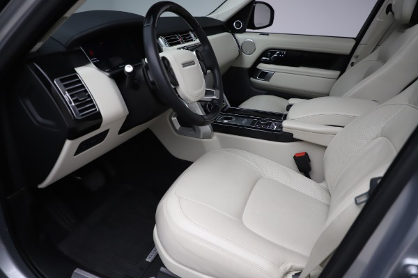 Used 2019 Land Rover Range Rover Supercharged LWB for sale Sold at Maserati of Greenwich in Greenwich CT 06830 13