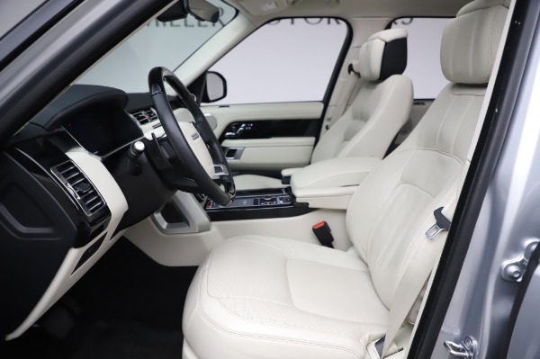 Used 2019 Land Rover Range Rover Supercharged LWB for sale Sold at Maserati of Greenwich in Greenwich CT 06830 14