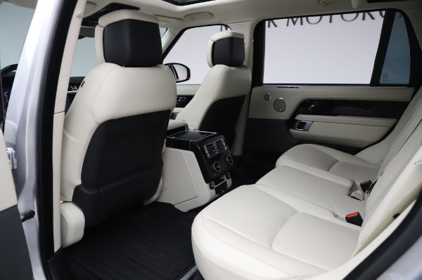 Used 2019 Land Rover Range Rover Supercharged LWB for sale Sold at Maserati of Greenwich in Greenwich CT 06830 16