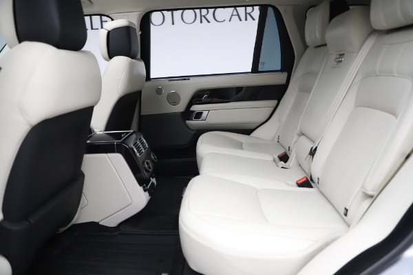 Used 2019 Land Rover Range Rover Supercharged LWB for sale Sold at Maserati of Greenwich in Greenwich CT 06830 17