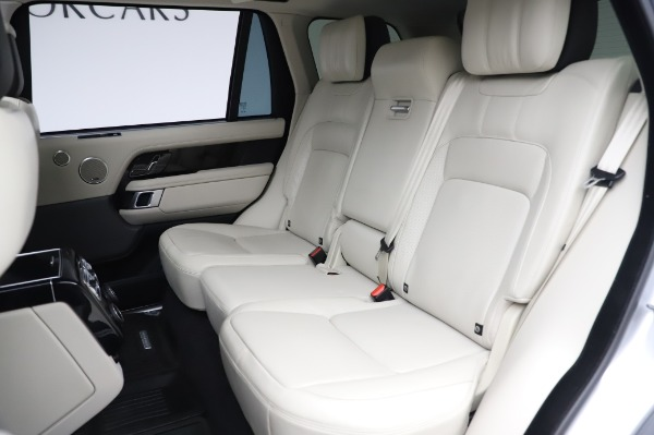 Used 2019 Land Rover Range Rover Supercharged LWB for sale Sold at Maserati of Greenwich in Greenwich CT 06830 19