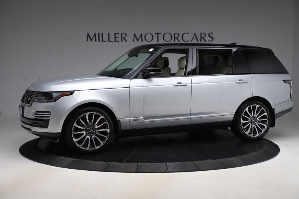 Used 2019 Land Rover Range Rover Supercharged LWB for sale Sold at Maserati of Greenwich in Greenwich CT 06830 2