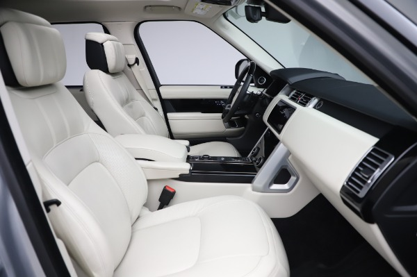 Used 2019 Land Rover Range Rover Supercharged LWB for sale Sold at Maserati of Greenwich in Greenwich CT 06830 21