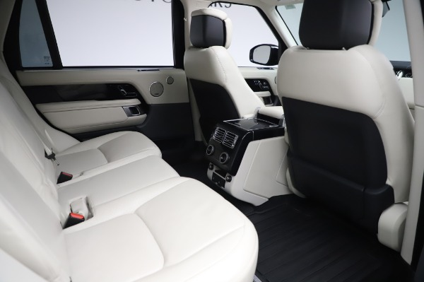 Used 2019 Land Rover Range Rover Supercharged LWB for sale Sold at Maserati of Greenwich in Greenwich CT 06830 23