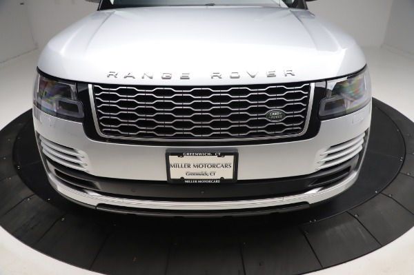 Used 2019 Land Rover Range Rover Supercharged LWB for sale Sold at Maserati of Greenwich in Greenwich CT 06830 26