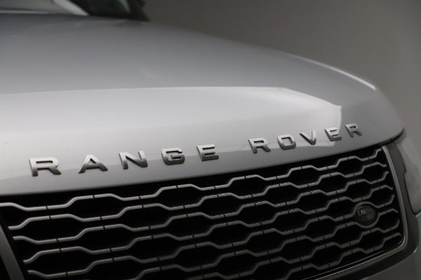 Used 2019 Land Rover Range Rover Supercharged LWB for sale Sold at Maserati of Greenwich in Greenwich CT 06830 27
