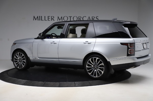 Used 2019 Land Rover Range Rover Supercharged LWB for sale Sold at Maserati of Greenwich in Greenwich CT 06830 4