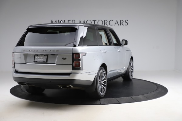 Used 2019 Land Rover Range Rover Supercharged LWB for sale Sold at Maserati of Greenwich in Greenwich CT 06830 7