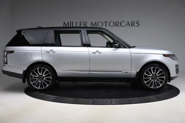 Used 2019 Land Rover Range Rover Supercharged LWB for sale Sold at Maserati of Greenwich in Greenwich CT 06830 9