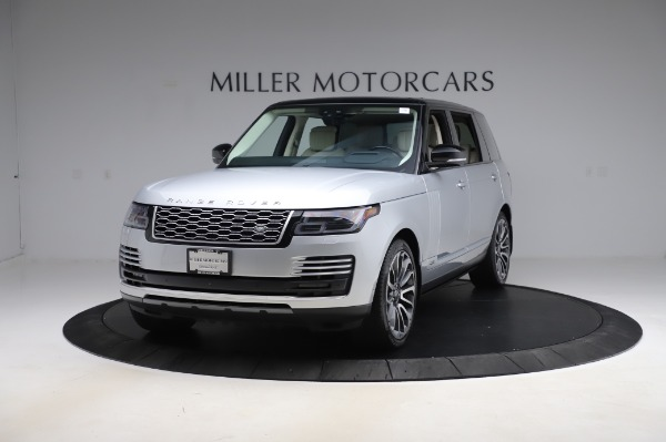 Used 2019 Land Rover Range Rover Supercharged LWB for sale Sold at Maserati of Greenwich in Greenwich CT 06830 1