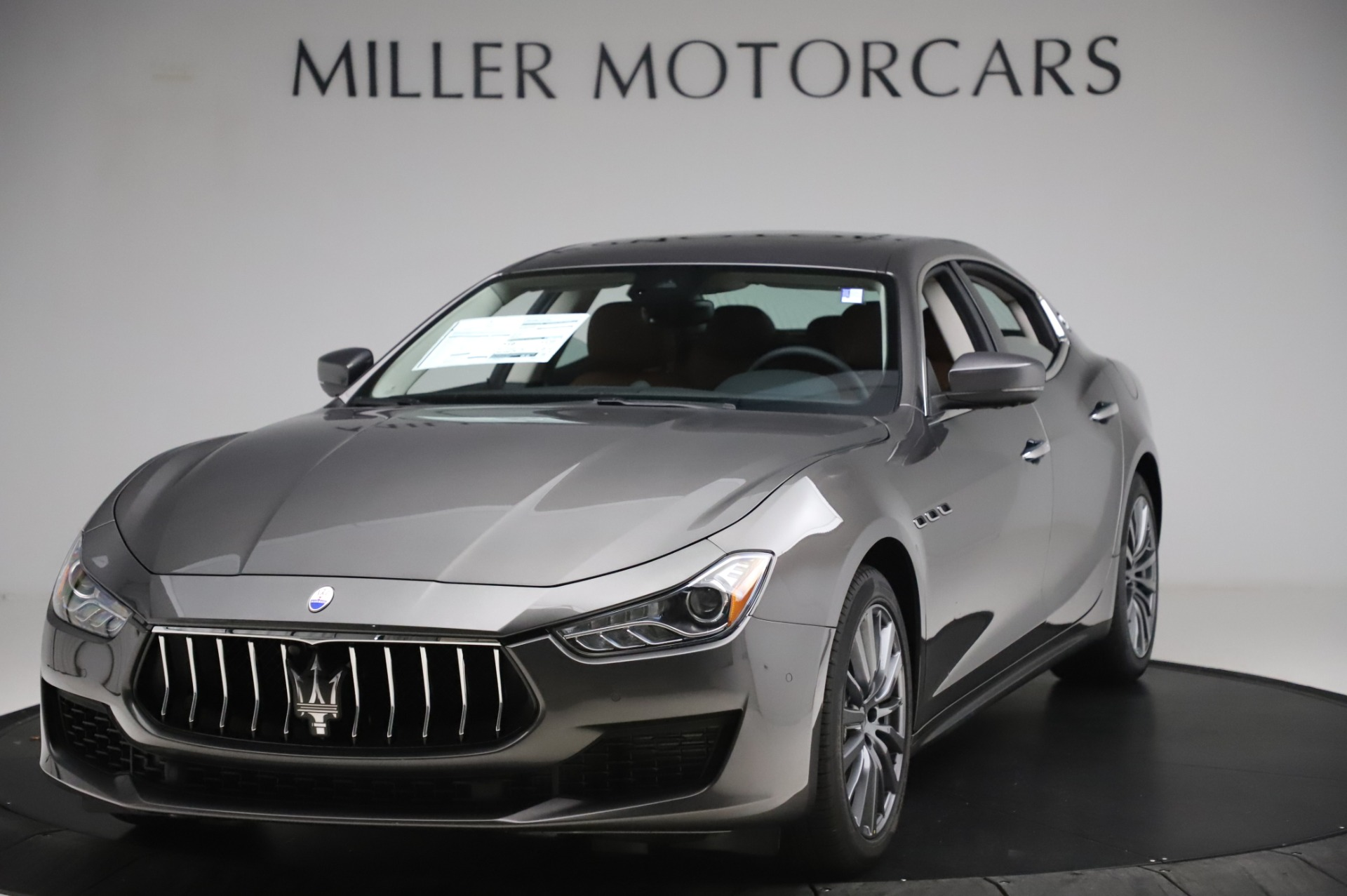 New 2020 Maserati Ghibli S Q4 for sale $83,785 at Maserati of Greenwich in Greenwich CT 06830 1