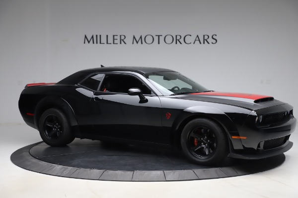 Used 2018 Dodge Challenger SRT Demon for sale Call for price at Maserati of Greenwich in Greenwich CT 06830 10