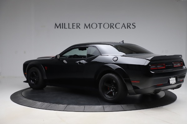 Used 2018 Dodge Challenger SRT Demon for sale Call for price at Maserati of Greenwich in Greenwich CT 06830 4