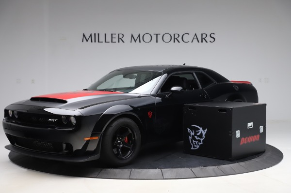 Used 2018 Dodge Challenger SRT Demon for sale Call for price at Maserati of Greenwich in Greenwich CT 06830 1