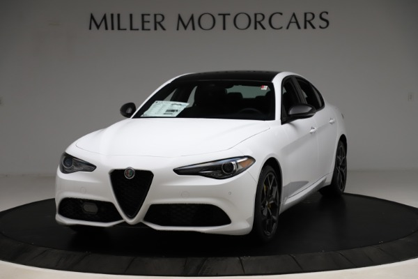 New 2020 Alfa Romeo Giulia Sport Q4 for sale $50,345 at Maserati of Greenwich in Greenwich CT 06830 1