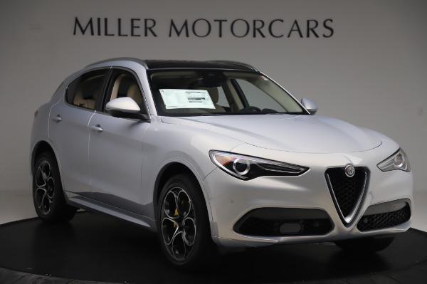 New 2020 Alfa Romeo Stelvio Ti Lusso Q4 for sale $55,045 at Maserati of Greenwich in Greenwich CT 06830 11