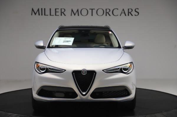 New 2020 Alfa Romeo Stelvio Ti Lusso Q4 for sale $55,045 at Maserati of Greenwich in Greenwich CT 06830 12