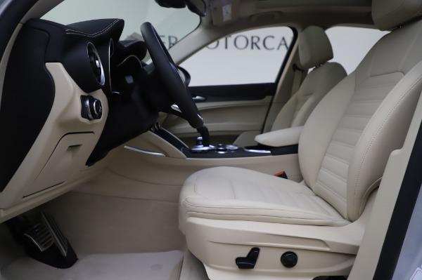 New 2020 Alfa Romeo Stelvio Ti Lusso Q4 for sale $55,045 at Maserati of Greenwich in Greenwich CT 06830 16