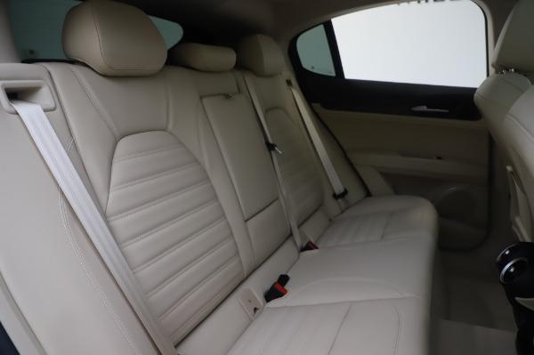 New 2020 Alfa Romeo Stelvio Ti Lusso Q4 for sale $55,045 at Maserati of Greenwich in Greenwich CT 06830 28