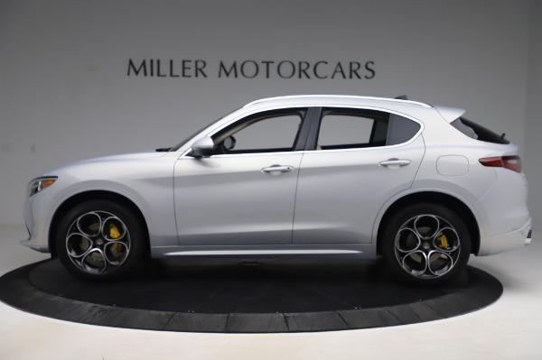 New 2020 Alfa Romeo Stelvio Ti Lusso Q4 for sale $55,045 at Maserati of Greenwich in Greenwich CT 06830 3