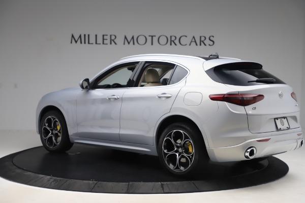 New 2020 Alfa Romeo Stelvio Ti Lusso Q4 for sale $55,045 at Maserati of Greenwich in Greenwich CT 06830 4