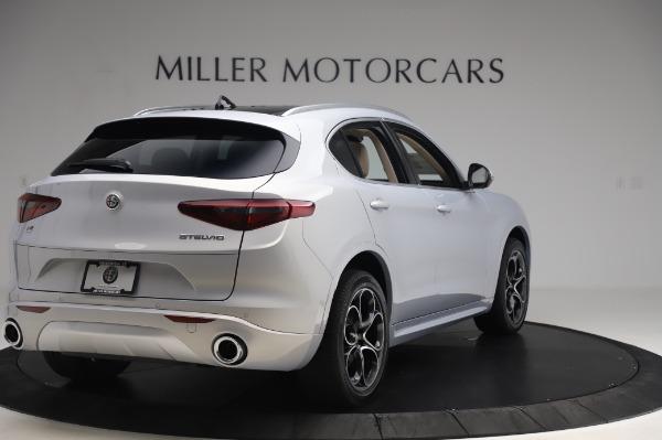 New 2020 Alfa Romeo Stelvio Ti Lusso Q4 for sale $55,045 at Maserati of Greenwich in Greenwich CT 06830 7