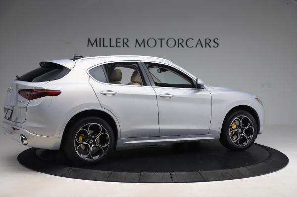 New 2020 Alfa Romeo Stelvio Ti Lusso Q4 for sale $55,045 at Maserati of Greenwich in Greenwich CT 06830 8