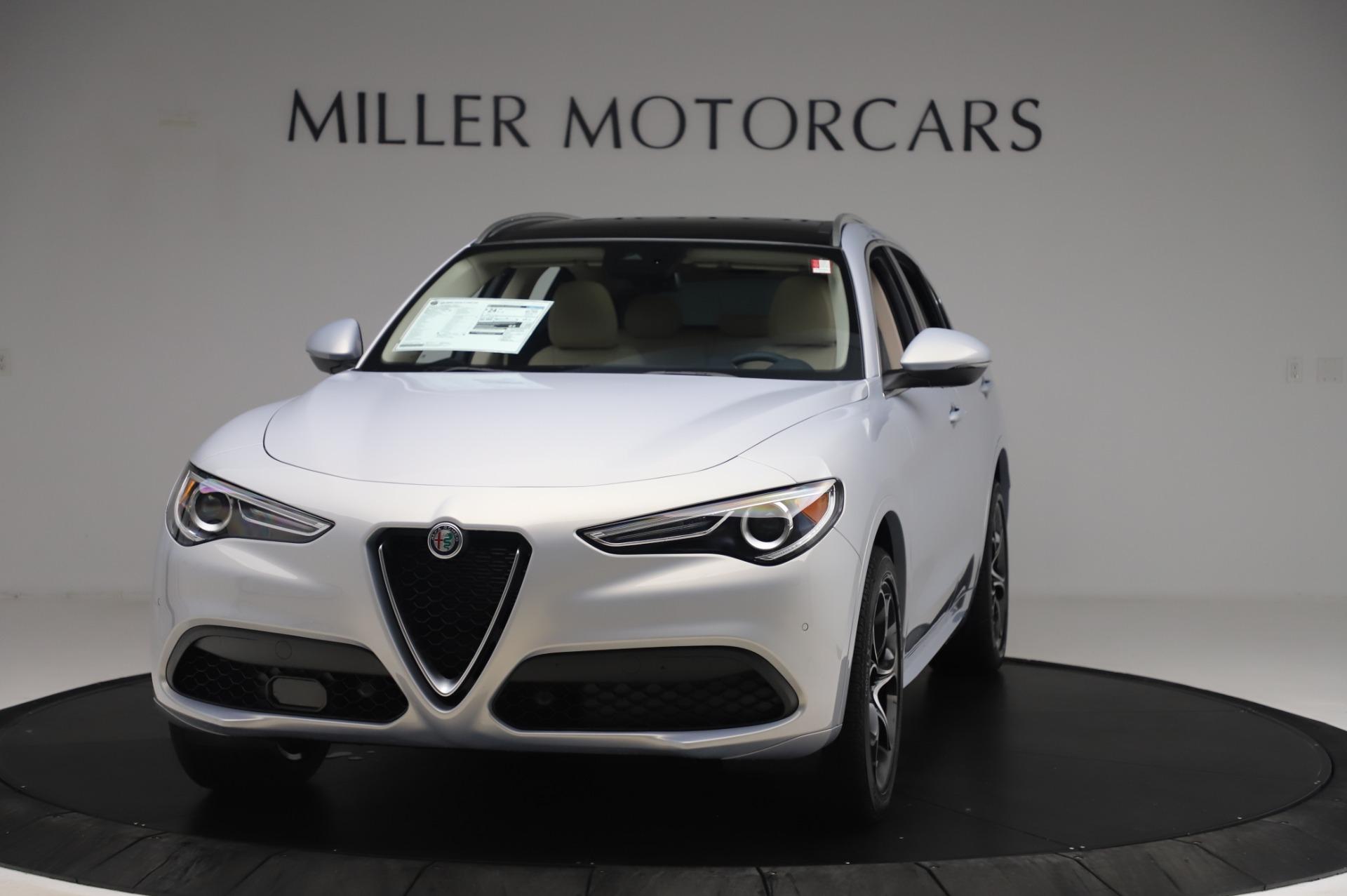 New 2020 Alfa Romeo Stelvio Ti Lusso Q4 for sale $55,045 at Maserati of Greenwich in Greenwich CT 06830 1