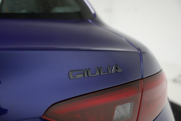 New 2020 Alfa Romeo Giulia Ti Sport Q4 for sale $47,995 at Maserati of Greenwich in Greenwich CT 06830 28