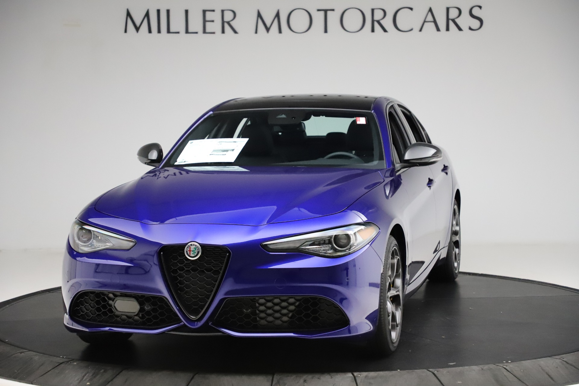 New 2020 Alfa Romeo Giulia Ti Sport Q4 for sale $52,995 at Maserati of Greenwich in Greenwich CT 06830 1