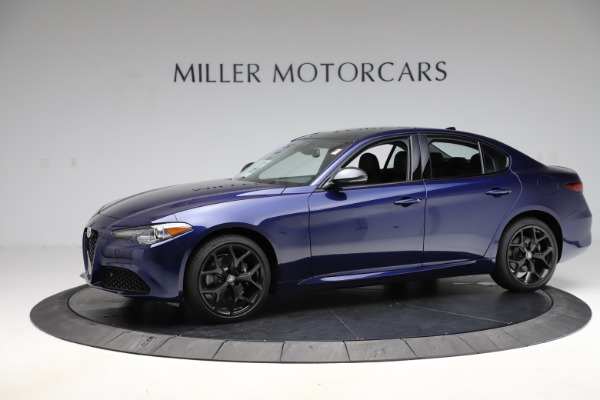 New 2020 Alfa Romeo Giulia Ti Q4 for sale $48,545 at Maserati of Greenwich in Greenwich CT 06830 2