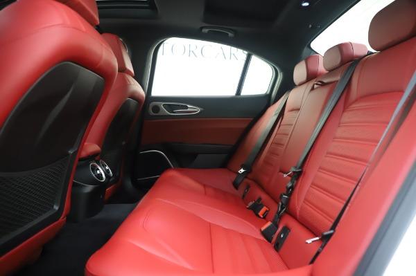 New 2020 Alfa Romeo Giulia Ti Sport Q4 for sale $46,495 at Maserati of Greenwich in Greenwich CT 06830 19