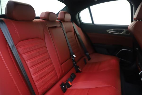 New 2020 Alfa Romeo Giulia Ti Sport Q4 for sale $46,495 at Maserati of Greenwich in Greenwich CT 06830 26