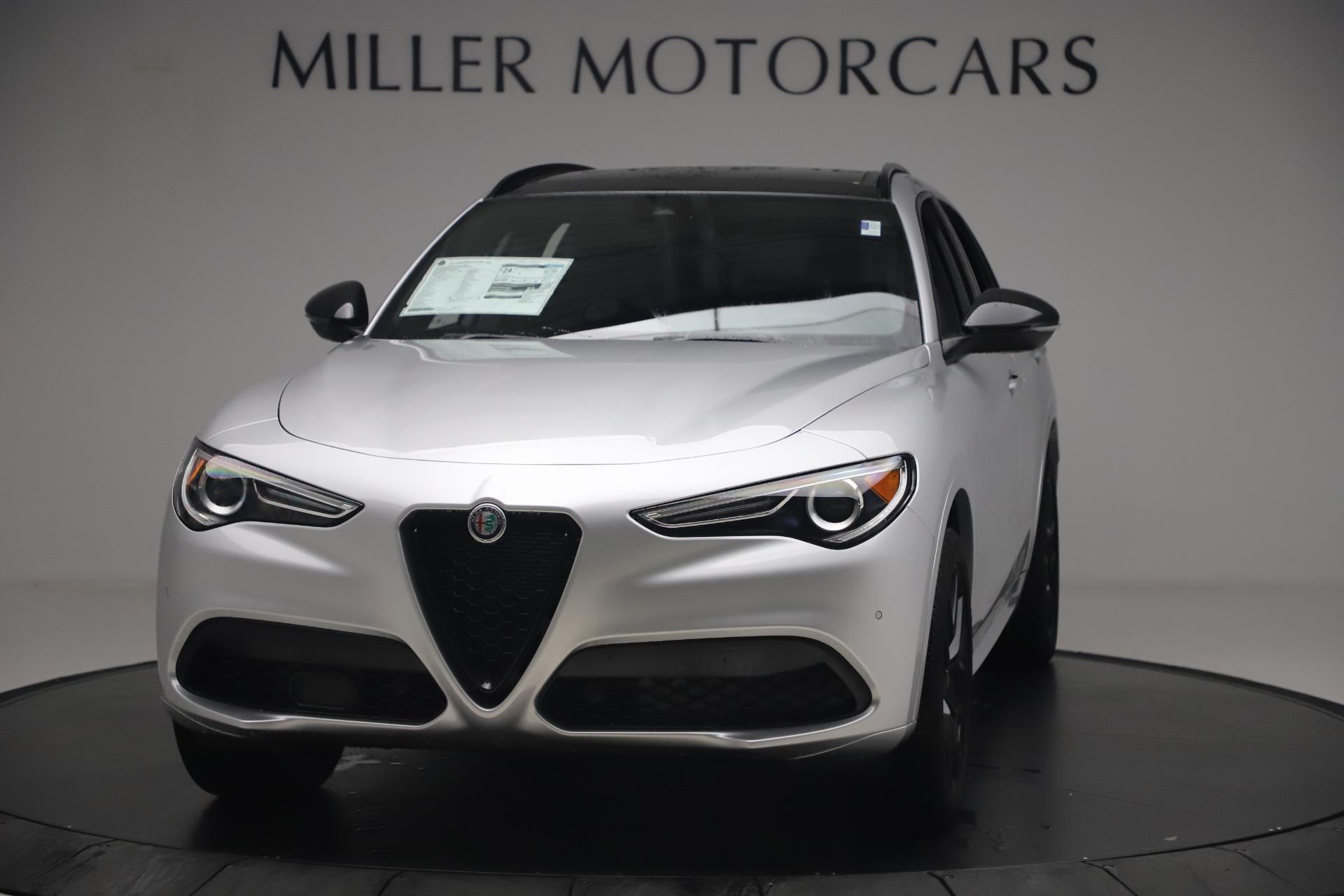 New 2020 Alfa Romeo Stelvio Ti Sport Q4 for sale $54,795 at Maserati of Greenwich in Greenwich CT 06830 1