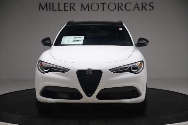 New 2020 Alfa Romeo Stelvio Ti Sport Q4 for sale $56,495 at Maserati of Greenwich in Greenwich CT 06830 12