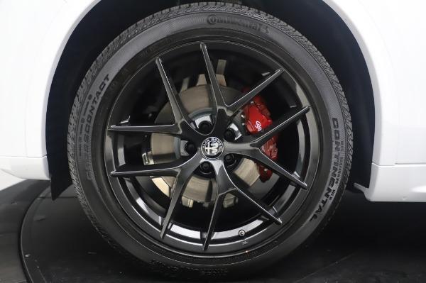 New 2020 Alfa Romeo Stelvio Ti Sport Q4 for sale $56,495 at Maserati of Greenwich in Greenwich CT 06830 14