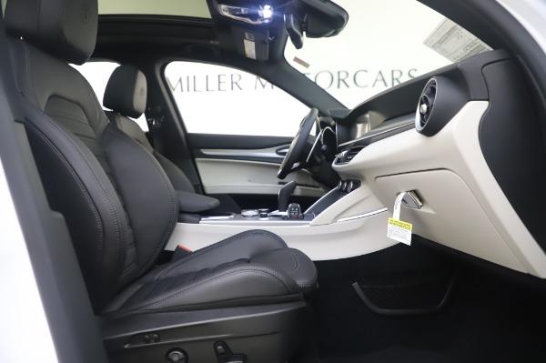New 2020 Alfa Romeo Stelvio Ti Sport Q4 for sale $56,495 at Maserati of Greenwich in Greenwich CT 06830 24